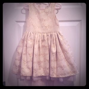 H & M girl's high low dress
